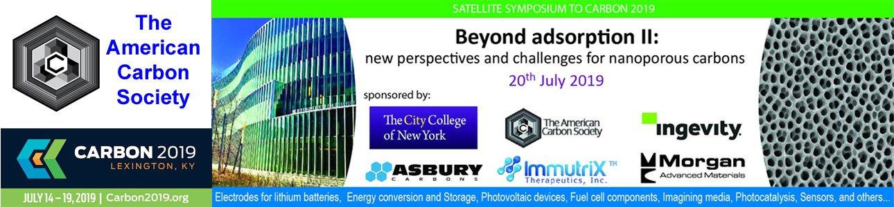 Carbon 2019 Conference Satellite Workshop