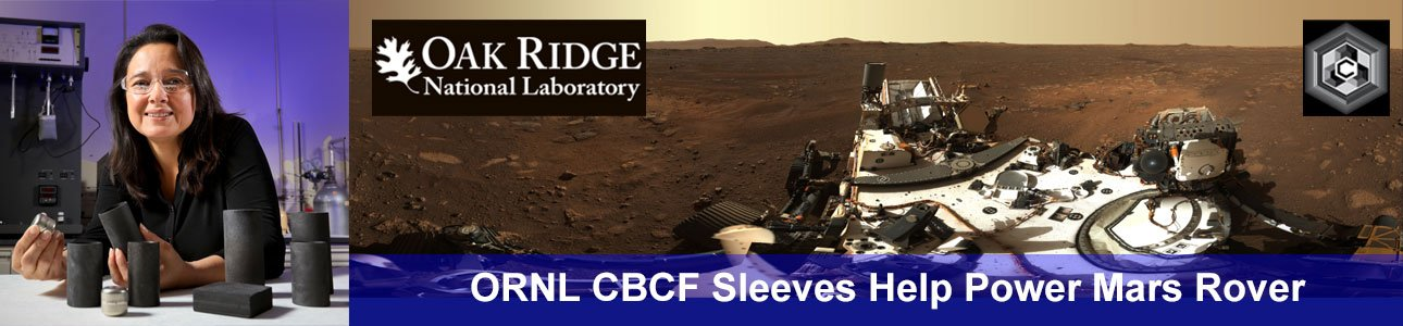 American Carbon Society Member, Nidia Gallego, Sends Carbon Sleeves To Mars
