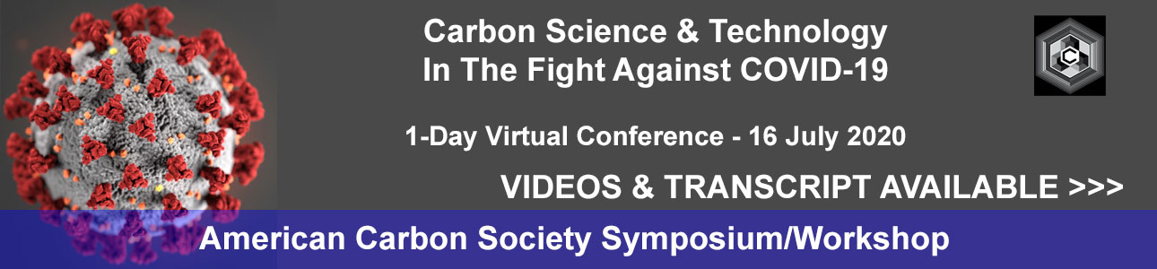 Carbon Science & Technology In The Fight Against COVID-19